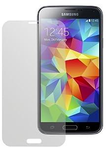 dipos Samsung Galaxy S5 Schutzfolie (4 Stück) - Antireflex Premium Folie matt