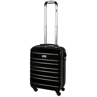 Carry On Luggage Hard Sided Trolley Case TSA Numeric Lock 30 Liter Black 815A