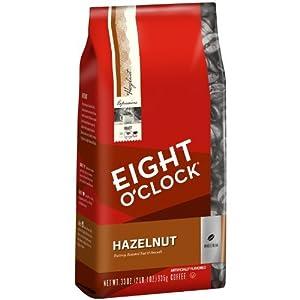 Eight O'Clock Hazelnut Whole Bean Coffee from Eight O'Clock Coffee
