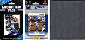 NFL Detroit Lions Licensed 2012 Score Team Set and Favorite Player Trading Card Pack... by C&I Collectables