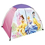 Disney Youth Princess 2 Pole Dome Tent with Zip T Doors, No Floor - 4-Feet x 3-Feet x 36-Inch