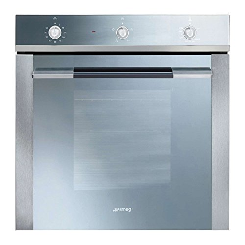 Smeg Linea SF102GV Built In Oven Gas Single Fan 60cm Stainless Steel