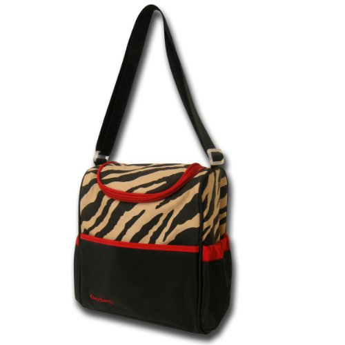 Gerber Bottle Bag, Brown Zebra