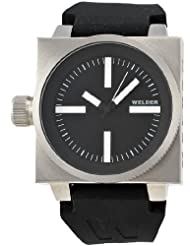 Men's K26 Series Stainless Steel Case Black Dial Black Rubber Strap Interchangeable Colored Filters