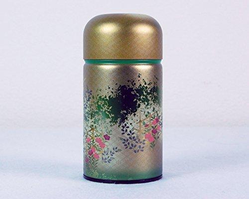 Ryu Mei Shounosato Japanese Metal Tea Tin [ Green ]