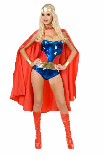 Charades Wonder Woman Superhero Costume