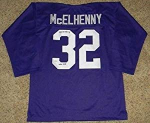 Autographed Hugh McElhenny Jersey - #32 Throwback - JSA Certified - Autographed... by Sports+Memorabilia