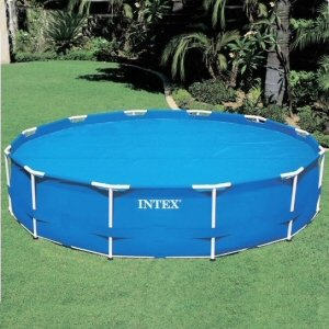Metal Frame Pool Solar Cover 18 Ft Appliances For Home