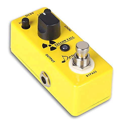 Donner Vintage Analog Delay Guitar Effect Pedal, Yellow Fall