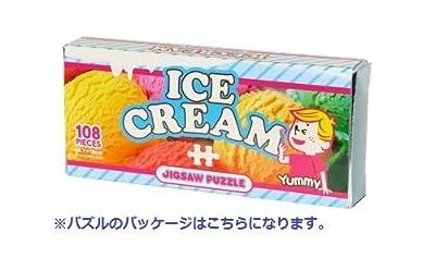 108ピース ジグソーパズル キャンディコレクション アイスクリーム マイクロピース(10x14.7cm)