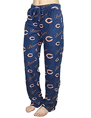 NFL CHICAGO BEARS Womens Polar Fleece Pajama Pants