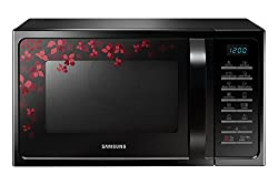 Samsung MC28H5025VB/TL 28-Litre 2900-Watt Convection MWO with Tandoor Technology Microwave Oven (Black)