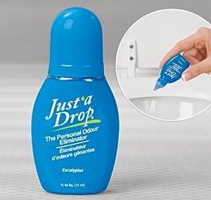 Amazon.com: Just A Drop - The Natural Toilet Odor ...