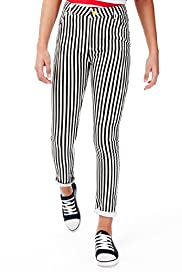 Limited Cotton Rich Striped Jeans