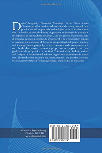 Digital Geography: Geospatial Technologies in the Social Studies Classroom (PB) (International Social Studies Forum:  The Series)