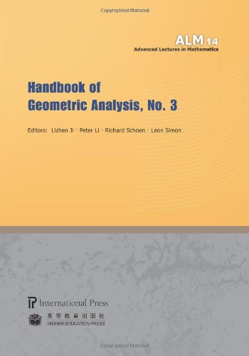 Handbook of Geometric Analysis: No. 3 (Advanced Lectures in Mathematics)