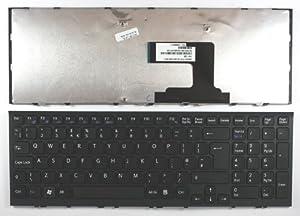 Sony 9Z.N5CSW.A0U Black Frame Black UK Replacement Laptop Keyboard