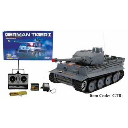 Radio Control Tank - RC RC German Tiger 1 BattleTank