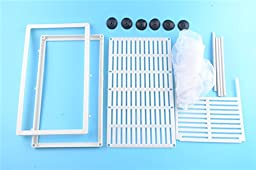 Aquarium Fish Tank Fry Guppy Breeding Hatchery Net Separation Trap Box (L)