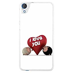 a AND b Designer Printed Mobile Back Cover / Back Case For HTC Desire 826 (HTC_826_1463)