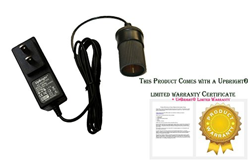UpBright NEW AC / DC Adapter For 75-BP700 12V 12 Volts Electric Blanket 12 Volt Electrically Heated Blanket Home to Car Cigarette Lighter Plug Socket Power Supply Cord Cable Charger Mains PSU (Electric Blanket Power Cord compare prices)
