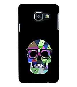 Skeleton with Specs 3D Hard Polycarbonate Designer Back Case Cover for Samsung Galaxy A3 :: Samsung Galaxy A3 Duos :: Samsung Galaxy A3 A300F A300FU A300F/DS A300G/DS A300H/DS A300M/DS
