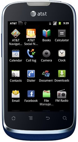 Huawei U8665 Fusion 2 Unlocked Gsm Phone With Android 2.3 Os, Touchscreen, 3.15Mp Camera, Gps, Wi-Fi, Bluetooth, Radio And Microsd Slot - Black