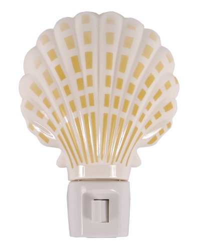 GE 54690 Sea Shell Incandescent Night Light