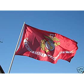 USMC Marines Flag 3x5 ft 3 x 5 NEW US Marine Corps