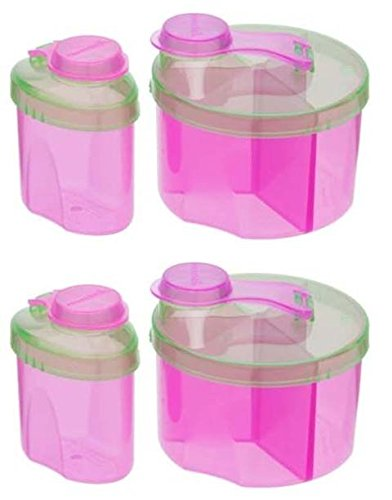 Munchkin Powdered Formula Dispenser Combo Pack, Colors May Vary - 2 Sets (Munchkin Dispenser compare prices)