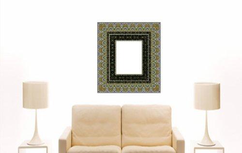 Imagen 2 de Etiqueta de la pared multicolor ME337 caligrafía Rahmen 20 x 18 cm