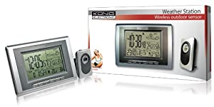 König KN-WS400 Station météorologique sans fil avec hygromètre