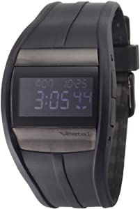 Vestal Men's CRU013 Crusader Blackout Polyurethane Surf Watch