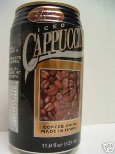 Royal Mills Iced Cappuccino Coffee Drink 12 Cans x 11z by Hapa's Gourmet Inc. (Royal Mills Iced Coffee compare prices)