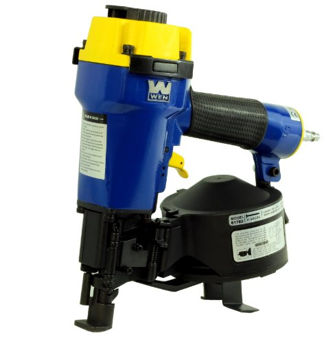 WEN 61782 7/8-Inch to 1-3/4-Inch Coil Roofing Nailer with Magnesium Housing