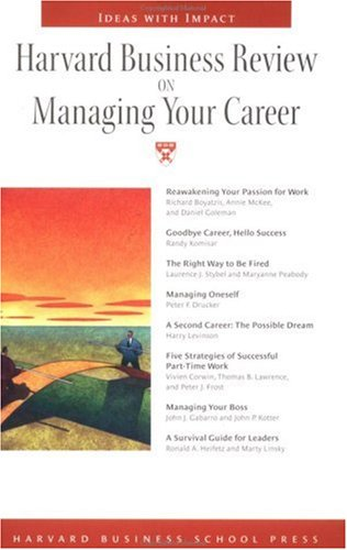 Image for Harvard Business Review on Managing Your Career