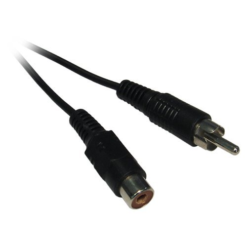 10m Single RCA / Phono Male to Female RCA Phono Audio Video AV Extension Cable Lead Wire