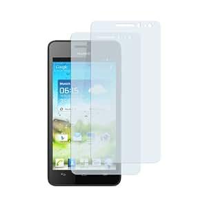 2 x mumbi Displayschutzfolie Huawei Ascend G 615 Schutzfolie
