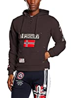 Geographical Norway Sudadera con Capucha Gymclass (Marrón)