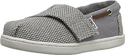 TOMS Kids Unisex Bimini Espadrille (Infant/Toddler/Little Kid) Grey Farren/Cotton Ripstop Sneaker 2 Infant M
