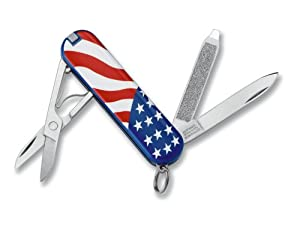 Victorinox Swiss Army Classic SD Pocket Knife (American Flag)
