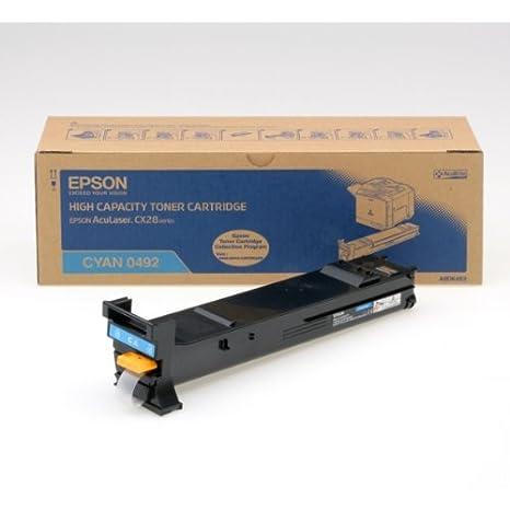 Epson C13S050492 Toner cyan pour Aculaser CX 28 DN/DNC/DTN/DTNC