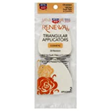 Rite Aid Renewal Cosmetic Applicators, Triangular 2 Ct.