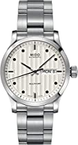Mido Multifort Automatic Silver Dial Stainless Steel Watch M0058301103100