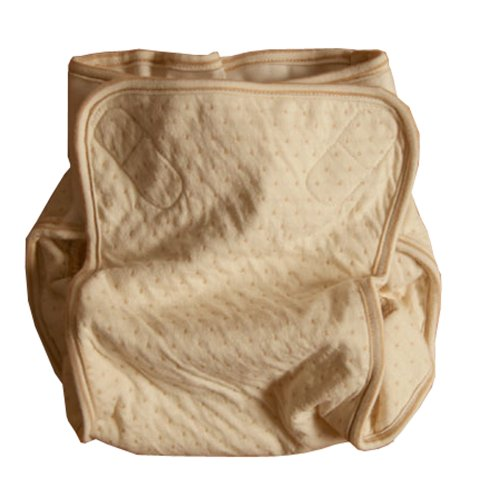 100% Organic Cotton Soft Cloth Diaper Cover - Small (11-17Lbs) front-865180