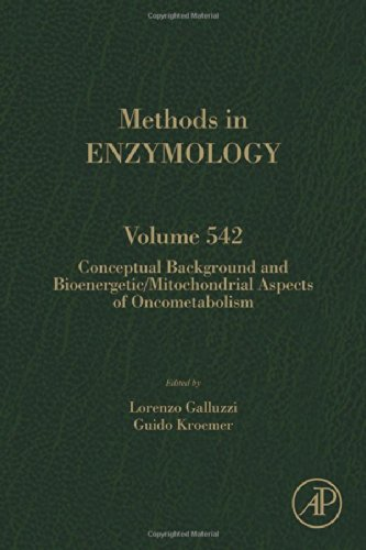 Conceptual Background and Bioenergetic/Mitochondrial Aspects of Oncometabolism, Volume 542 (Methods in Enzymology)