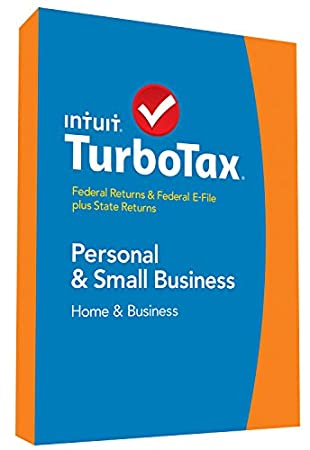 TurboTax Home & Business 2014 Fed + State + Fed Efile Tax Software + Refund Bonus Offer