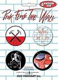 "Pink Floyd ~ Piknk Floyd ""G"" Rated Button Set [Apparel]"