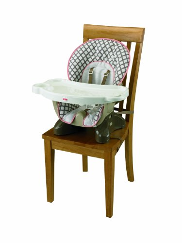 Silla para comer fisher price rayas blanco 5996640 for Silla fisher price para comer