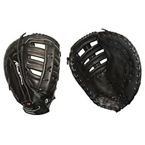 Buy Akadema 12.5in Left Hand Throw Ladies Fastpitch 1st Base Softball Mitt AKD-ANF-71FR by Akadema
